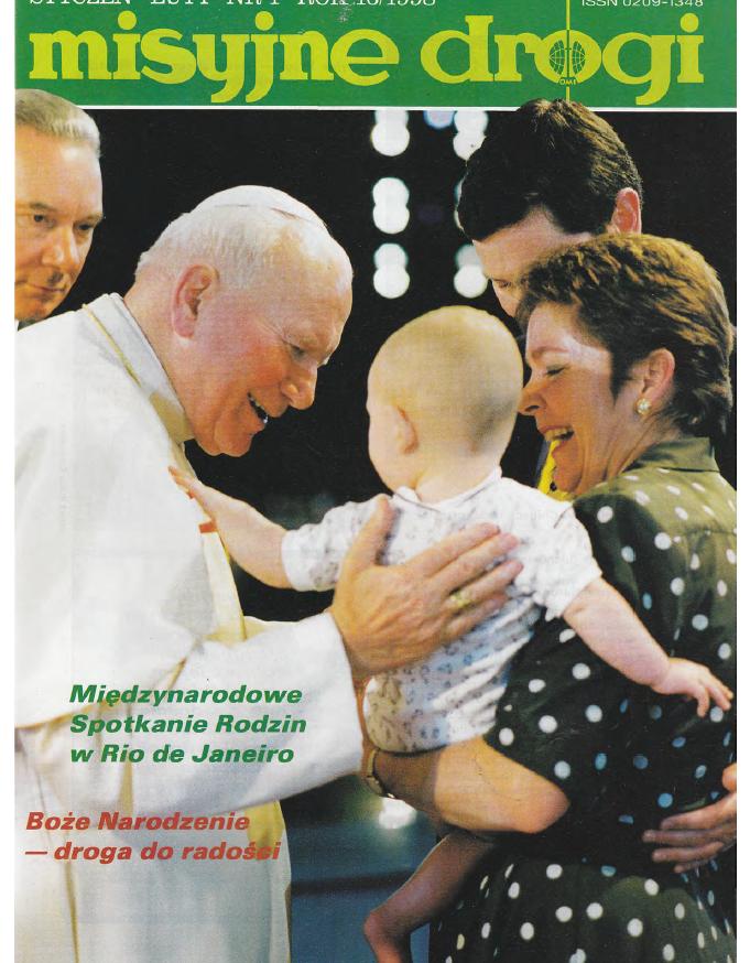 Misyjne Drogi nr 1 1998