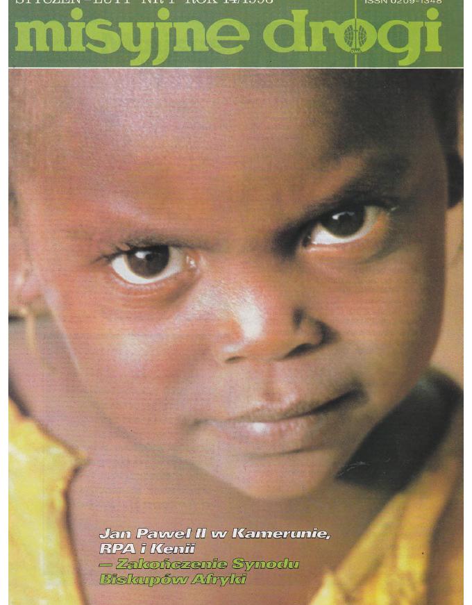 Misyjne Drogi nr 1 1996