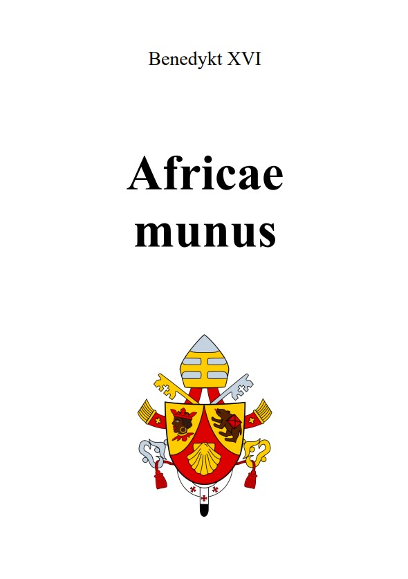 Adhortacja Africae munus