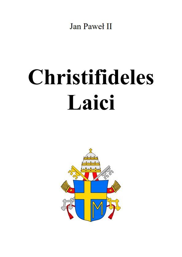 Adhortacja Christifideles Laici