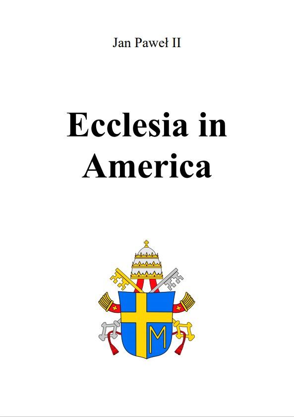 Adhortacja Ecclesia in America