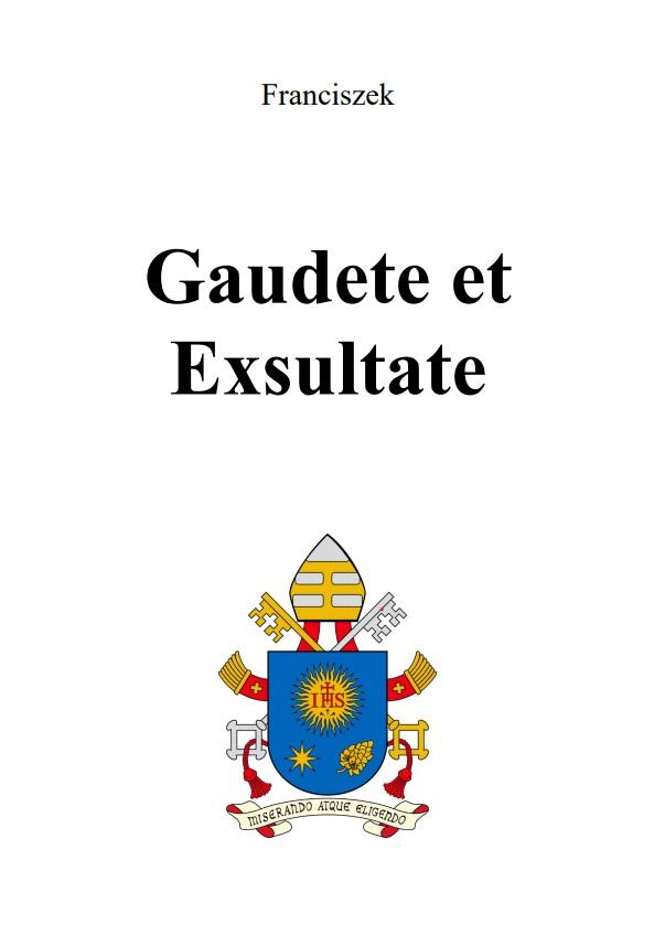 Adhortacja Gaudete et Exsultate