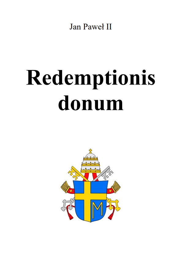 Adhortacja Redemptionis donum