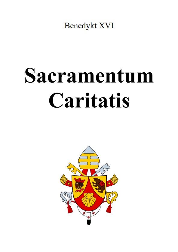 Adhortacja Sacramentum Caritatis