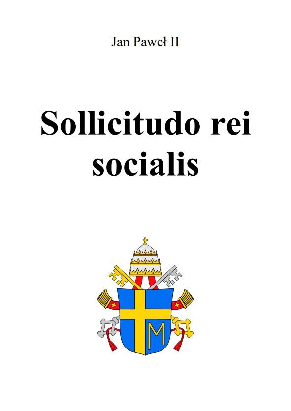Encyklika Sollicitudo rei socialis